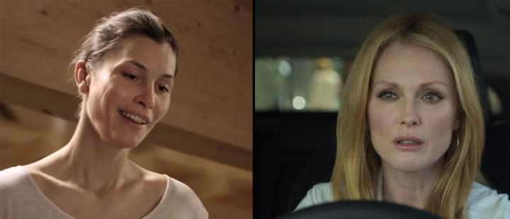Golden Globe-nominasjonene er klare. Her Lisa Loven Kongsli i «Turist» og Julianne Moore i «Maps to the Stars».