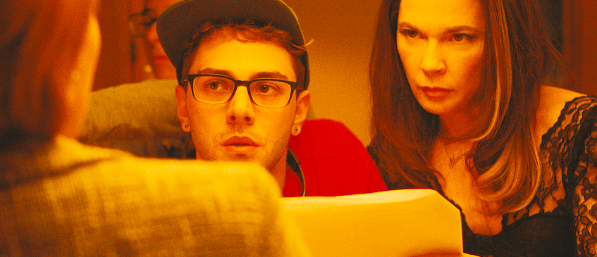 Xavier Dolan instruerer Anne Dorval under innspillingen av Mamma. (Foto: Another World Entertainment)