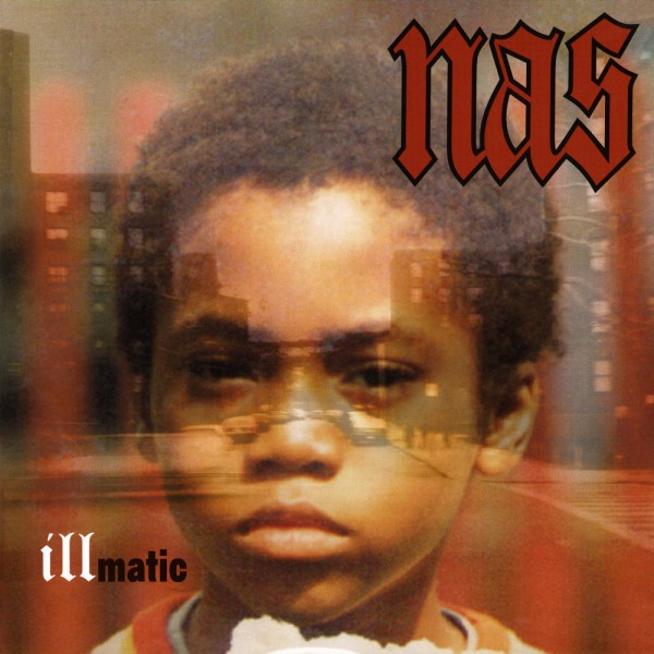 "Originalcoveret til ""Illmatic"" (1994)."