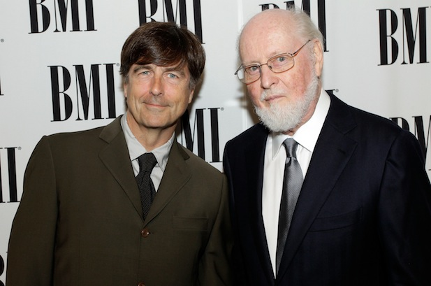 Thomas Newman og John Williams under BMI-arrangement i 2012.