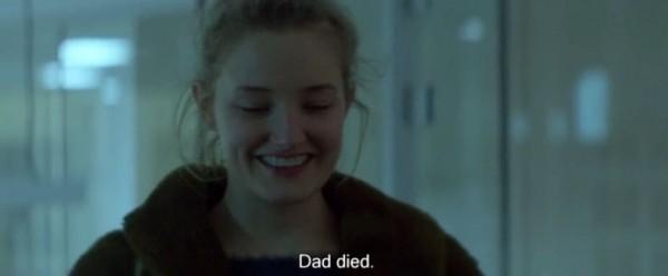 Dad died