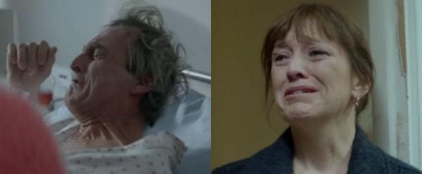 gråt far og mor