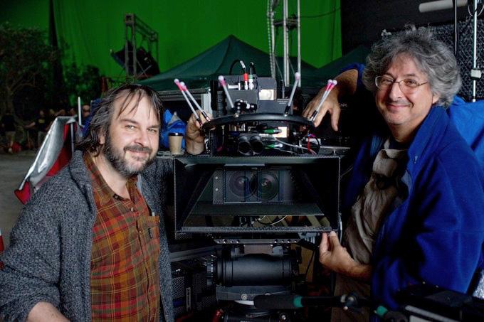 Regissør Peter Jackson og Andrew Lesnie.