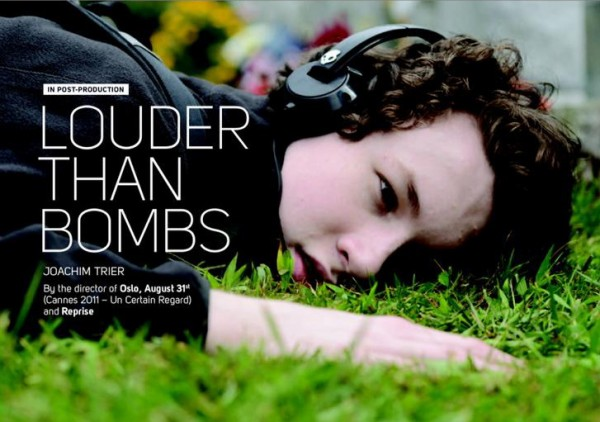 Salgsagent Memento Films presenterer «Louder Than Bombs».