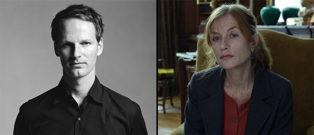 Joachim Trier og Isabelle Huppert (Foto: Filmweb)