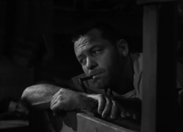 William Holden i hovedrollen som sersjant Sefton