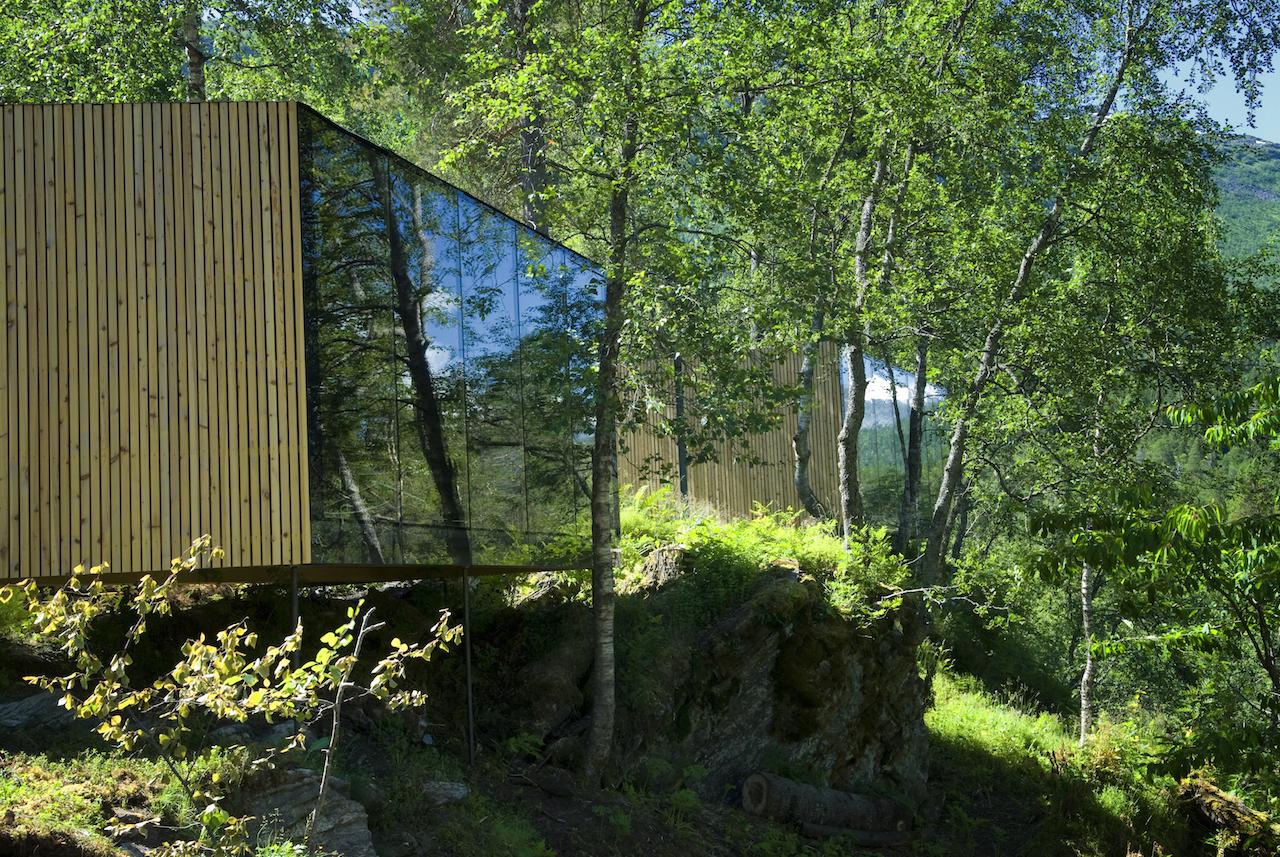 Juvet landskapshotell (2007-2013). Jensen og Skodvin. Foto: Per Eide, juvet.com.