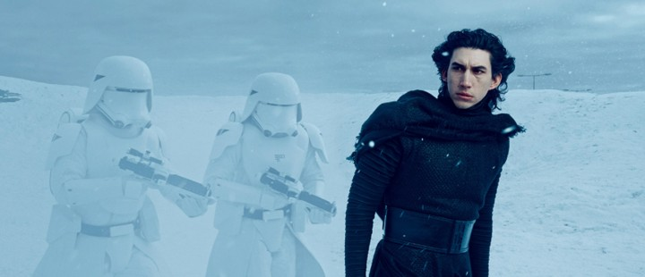 Første sniktitt på Adam Driver som bad guy i Star Wars: Episode VII – The Force Awakens
