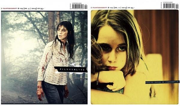 To utgaver av Z filmtidsskrift (Tema: Filmanalyse og Ungdomsfilm)
