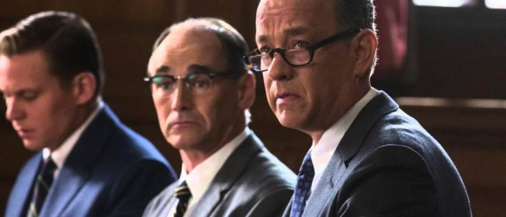Se plakaten til Steven Spielbergs Bridge of Spies