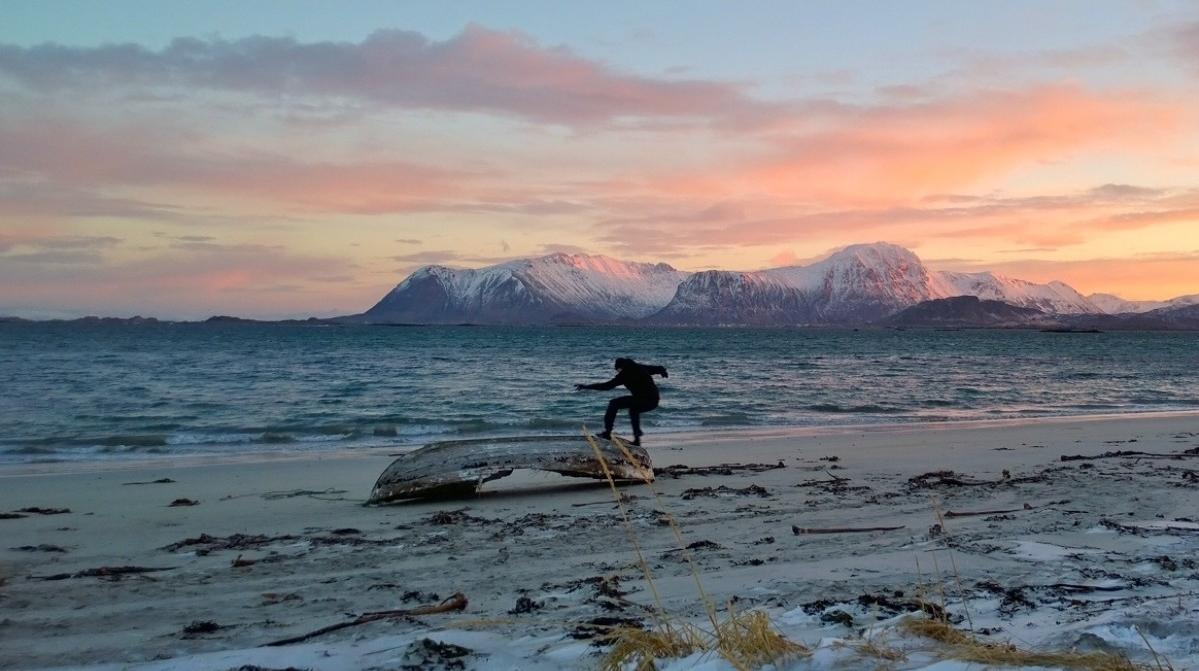 """""""Skate"""" aka """"Mot Nord"""" (regi: Jørn Nyseth Ranum)"""