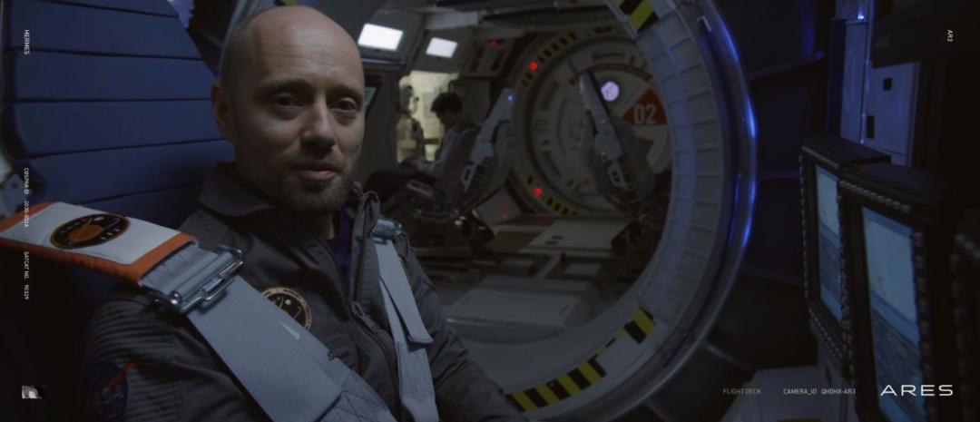 Aksel Hennie er tysk astronaut i teaseren til Ridley Scotts The Martian