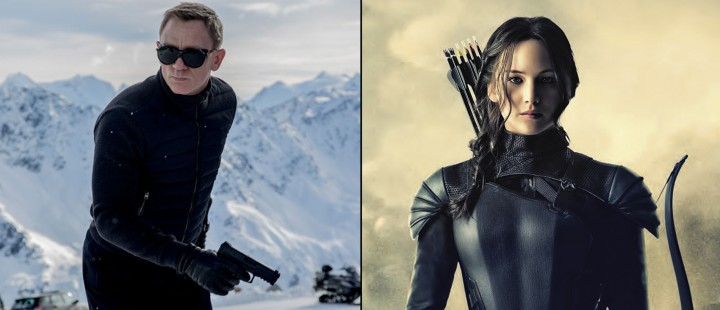 Høstens blockbustere nærmer seg – nye trailere til Spectre og The Hunger Games: Mockingjay – Part 2