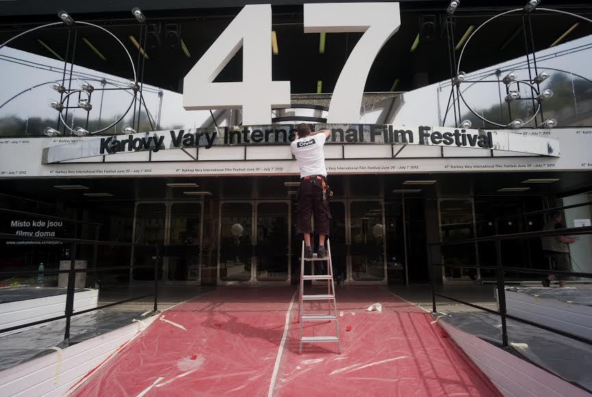 A picture from the 47. edition of the Karlovy Vary International Film Festival. (2012)