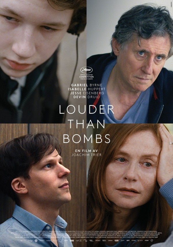 «Louder Than Bombs» – poster