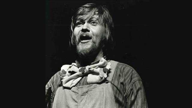 Harald Heide Steen Jr. som Knutsen i «Knutsen og Ludvigsen» (1974).