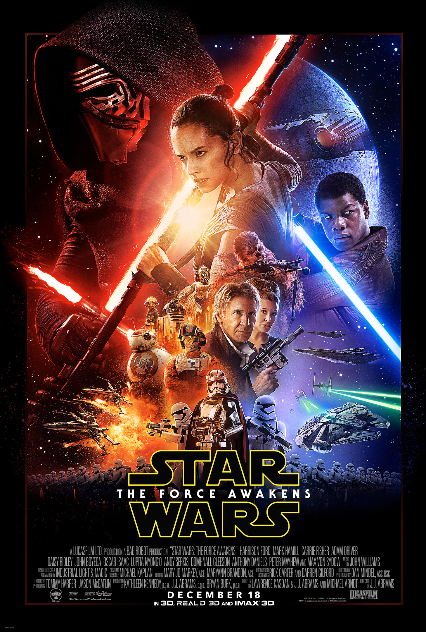 «Star Wars: Episode VII – The Force Awakens» – plakat