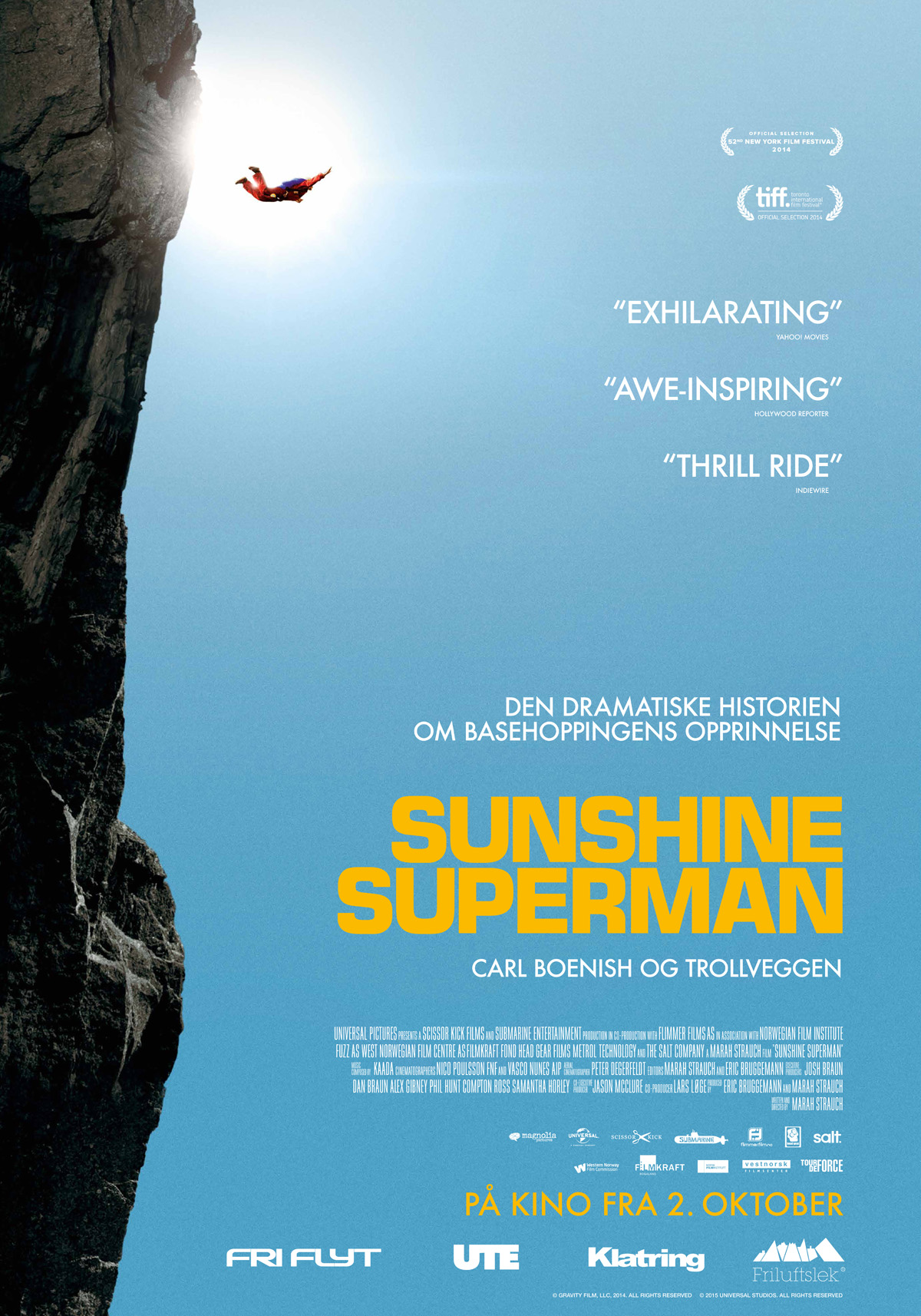 «Sunshine Superman» - plakat