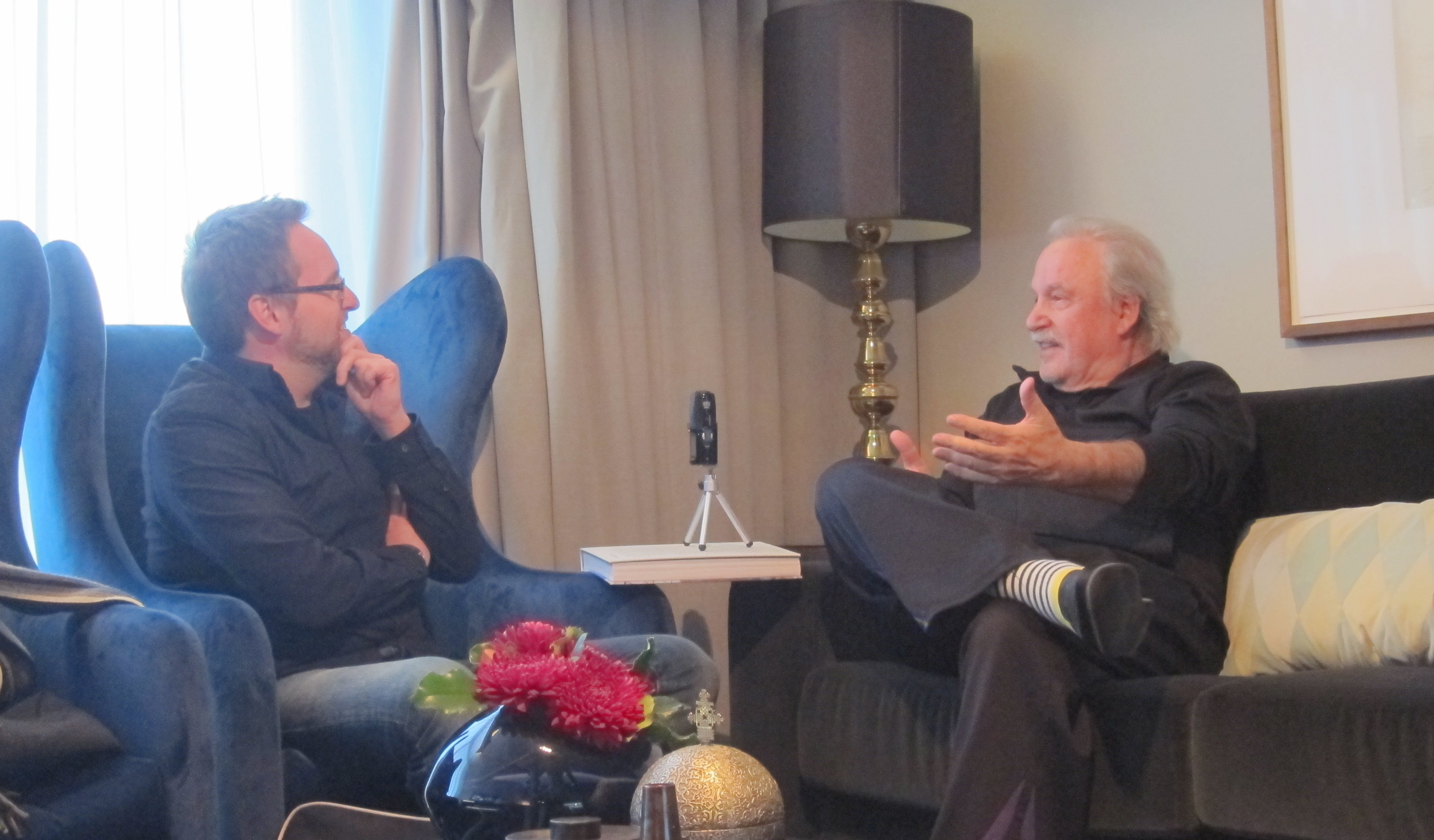 Giorgio Moroder in conversation with Thor Joachim Haga.