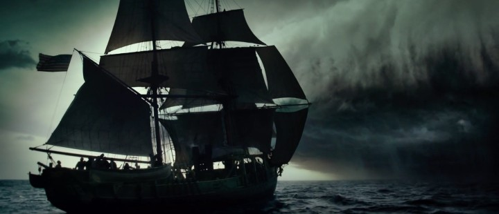 Havet viser ingen nåde i den ferske traileren til Ron Howards In the Heart of the Sea