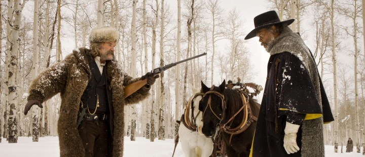 Sniktitt på Quentin Tarantinos 70mm-arbeid med The Hateful Eight og roadshow-lanseringen