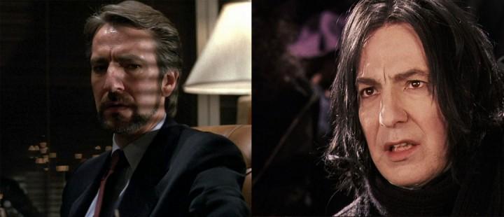 Skuespiller Alan Rickman er død