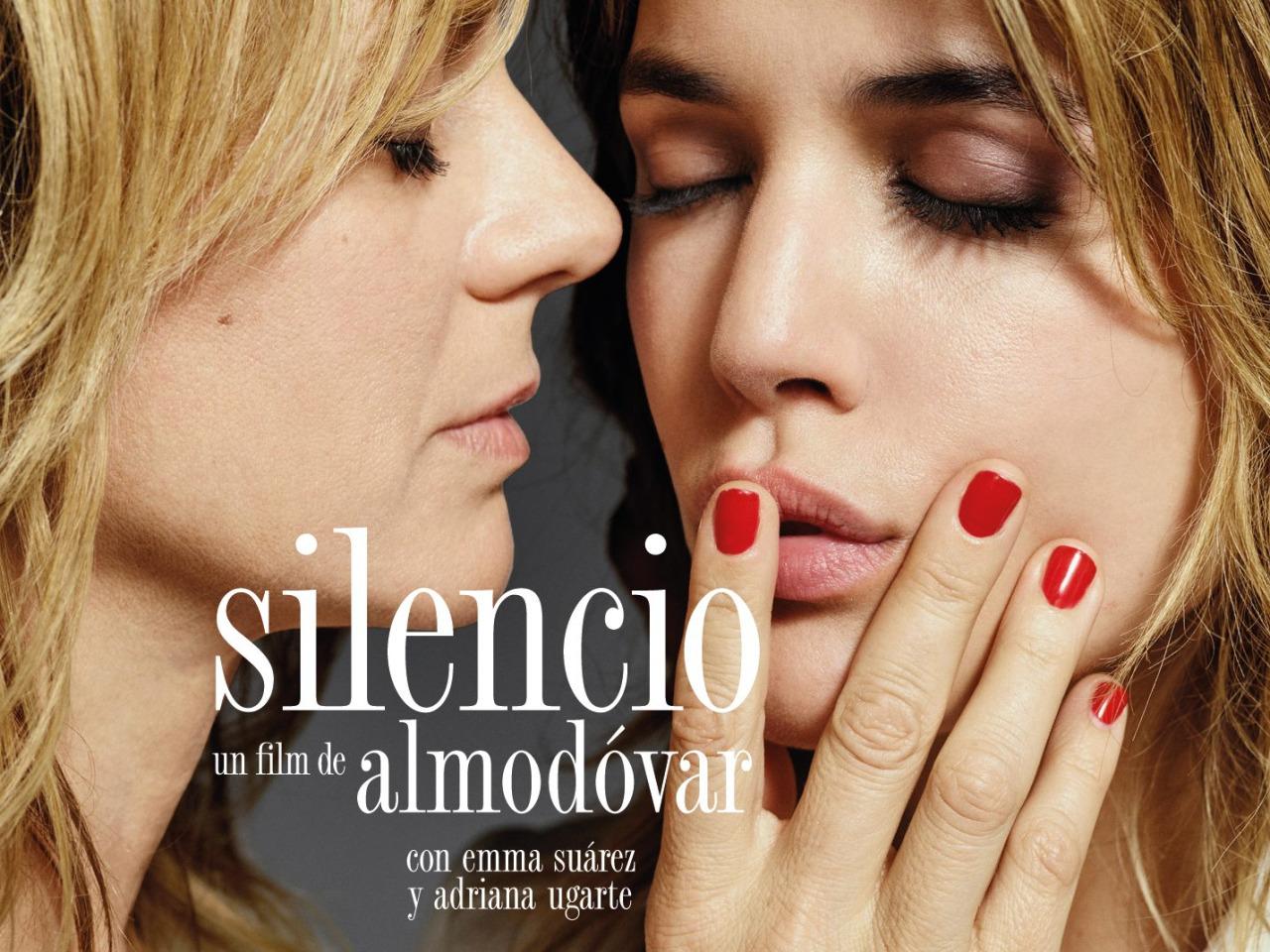 Plakatskisse fra før filmen skiften tittel fra «Silencio» til «Julieta».