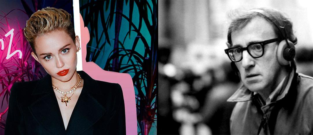 Hold på hornbrillene: Popikonet Miley Cyrus skal spille i Woody Allens første TV-serie