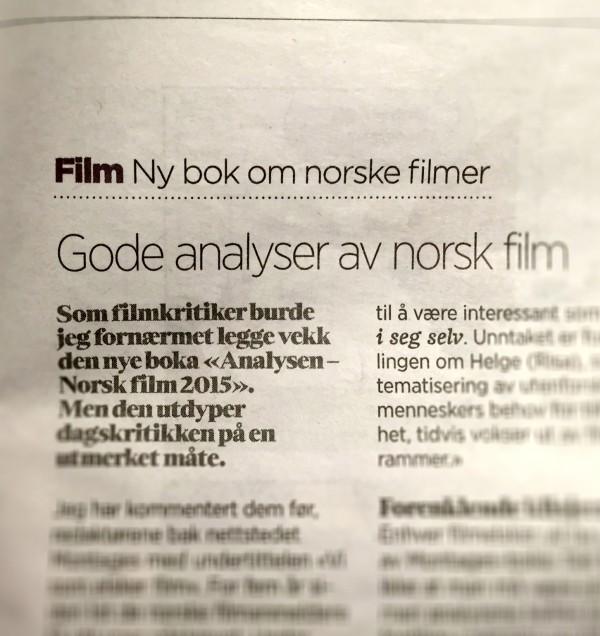 Faksimile fra Stavanger Aftenblad.