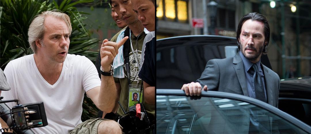 Harald Zwart griper regispakene og fester setebeltet med Keanu Reeves for bilfilmen Rally Car