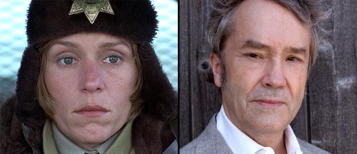 Frances McDormand i «Fargo» (1996) og komponist Carter Burwell.