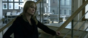 Robin Wright i «The Girl With the Dragon Tattoo» (David Fincher, 2011).