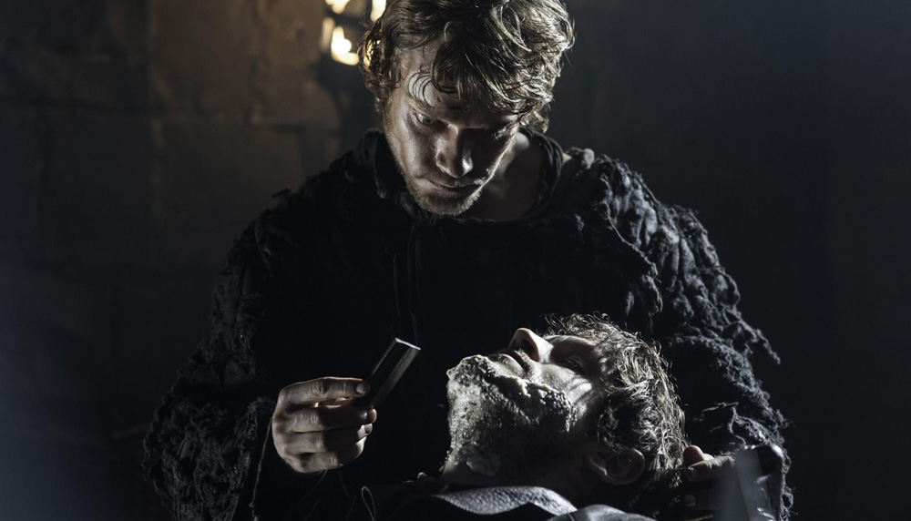 Theon Greyjoy og Ramsay Bolton i «Game of Thrones».