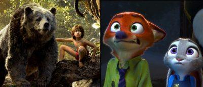Filmfrelst #222: Jungelboken og Zootropolis