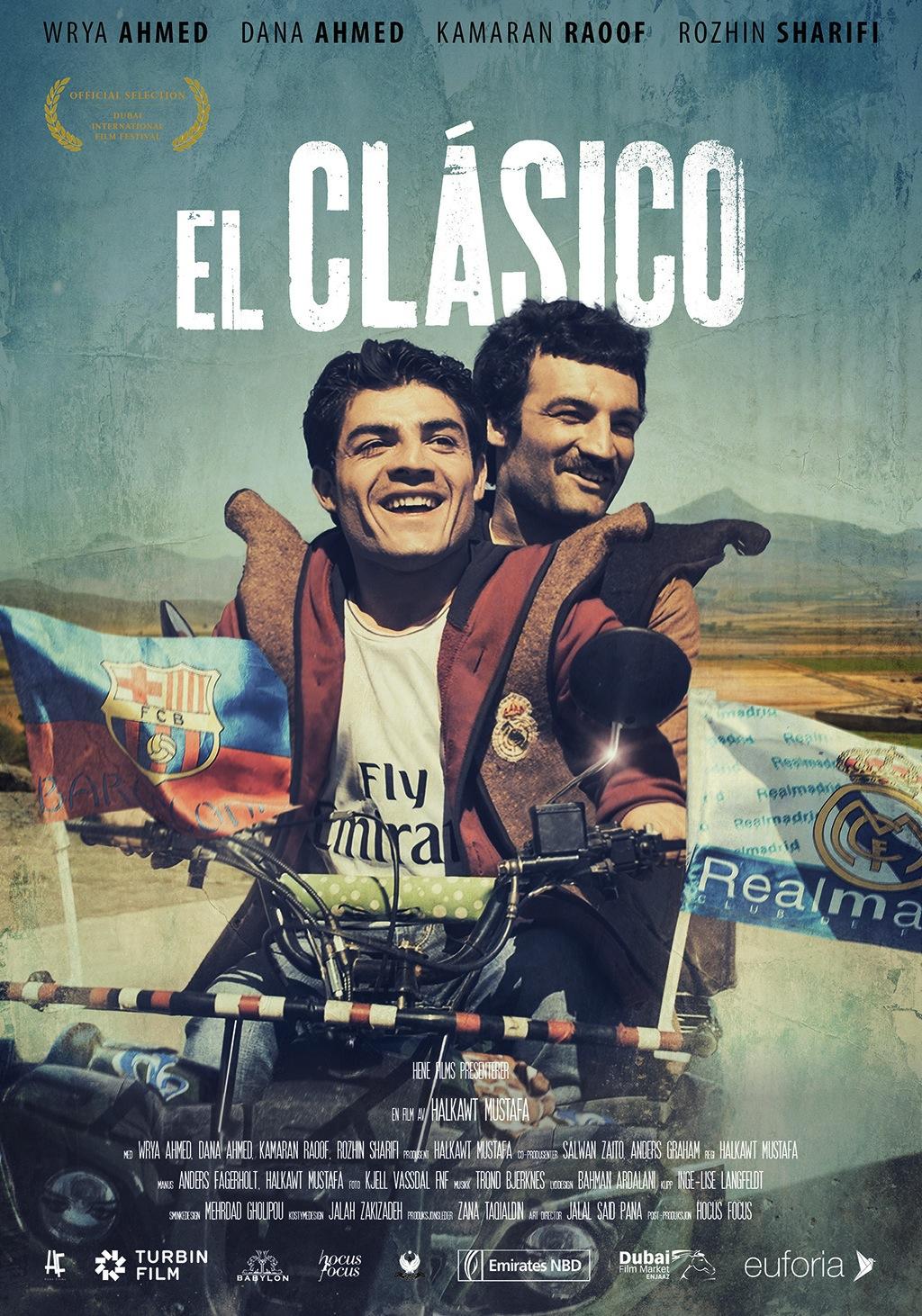 «El Clásico»– plakat
