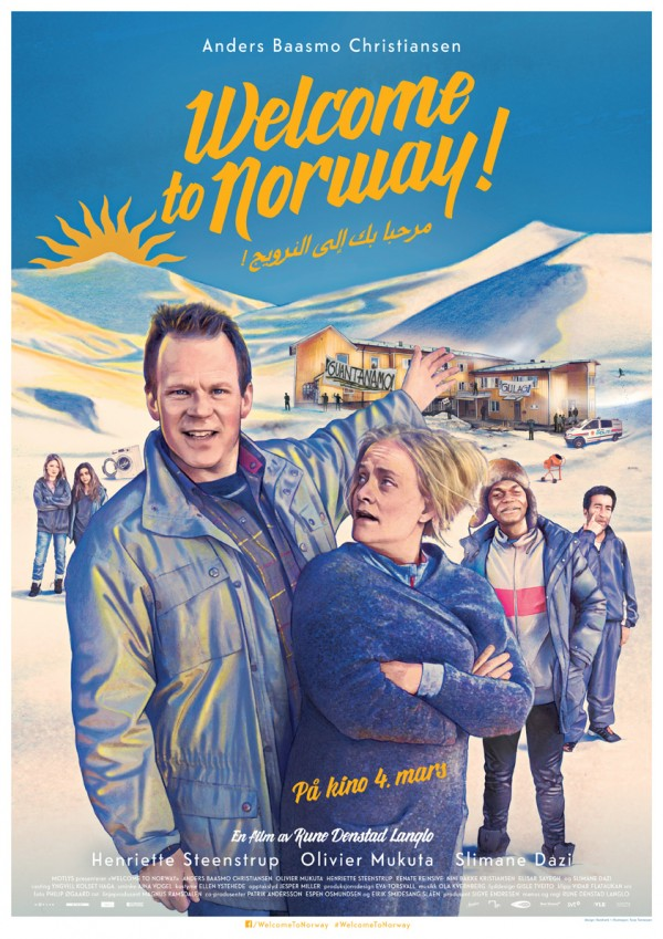 «Welcome to Norway» – plakat