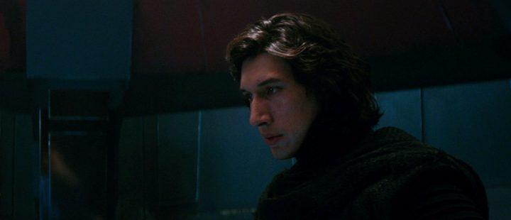Adam Driver som Kylo Ren i Star Wars: The Force Awakens