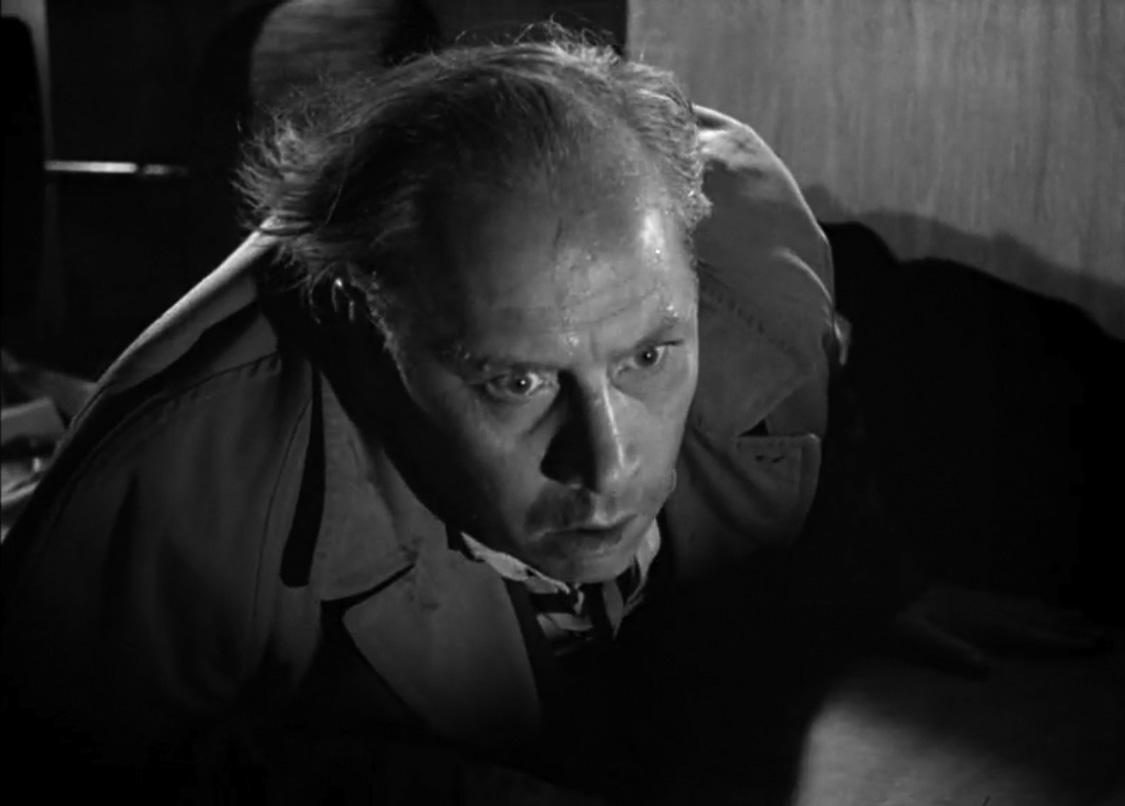 Claes Gill i «Det brenner i natt!» (1955).