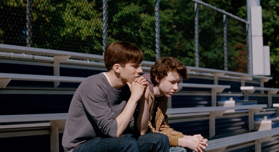 Devin Druid (til venstre) er nominert for sin hovedrolle i «Louder Than Bombs».
