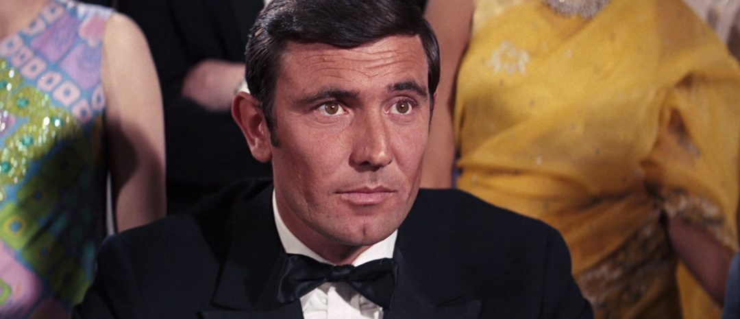 George Lazenby i «On Her Majesty's Secret Service».