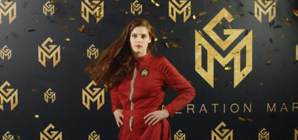 Inga Ibsdotter Lilleaas som Astrid i «Generation Mars»