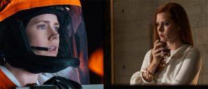 Amy Adams i «Arrival» og «Nocturnal Animals», begge med verdenspremiere på filmfestivalen i Venezia.