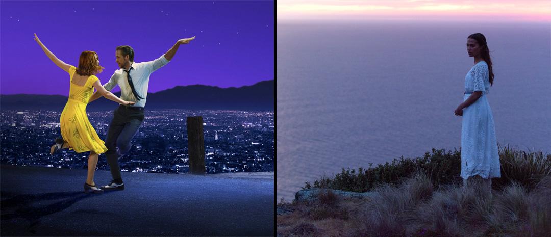 «La La Land» og «The Light Between Oceans» har hatt premiere under filmfestivalen i Venezia.