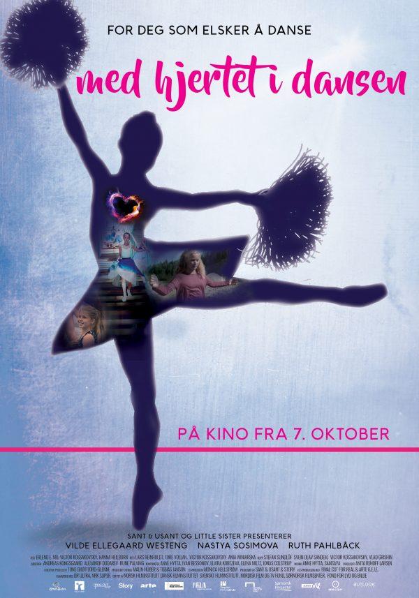 «Med hjertet i dansen» – plakat