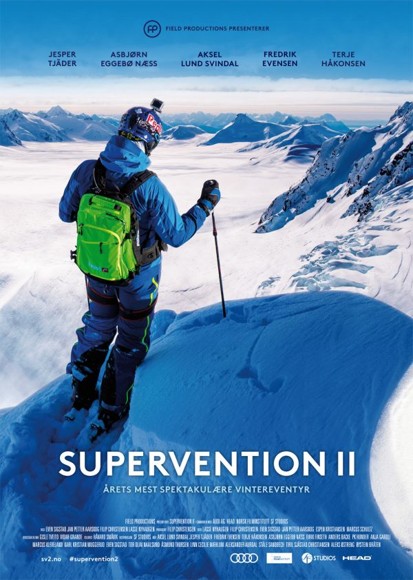 «Supervention II» – plakat