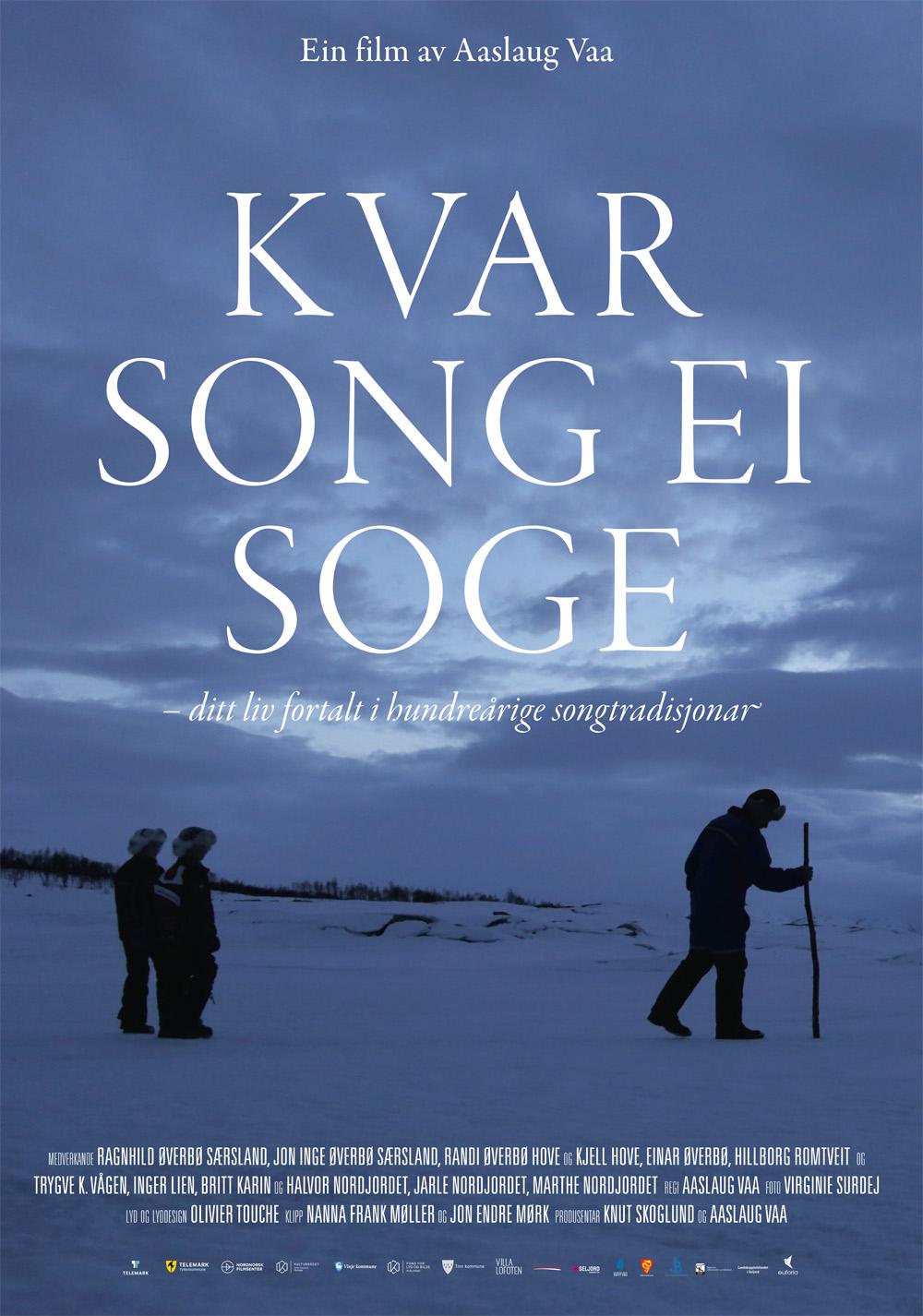 «Kvar song ei soge» – plakat