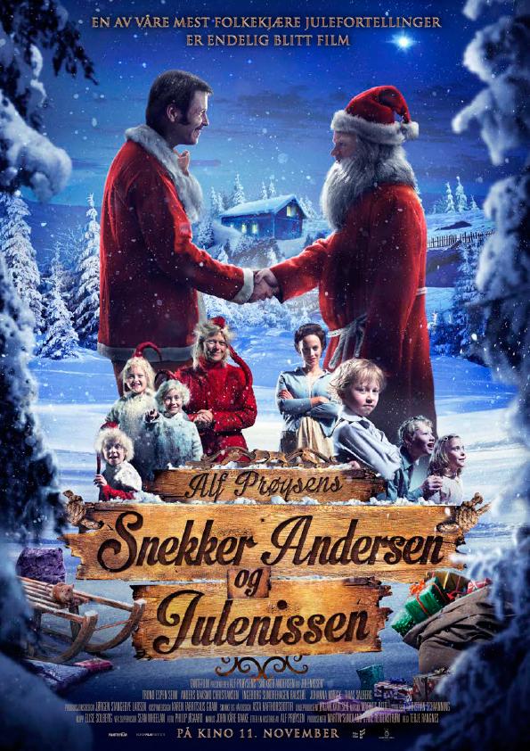 «Snekker Andersen og Julenissen» – kinoplakat