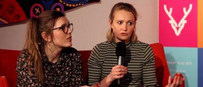 Regissørene av «Ishavsblod», fra venstre: Trude Berge Ottersen og Gry Elisabeth Mortensen.