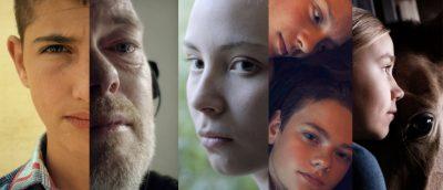 Årets nominerte filmer, fra venstre: «Fluefangeren», «Forældre», «Sameblod», «Hjartasteinn» og «Tyttö nimeltä Varpu».