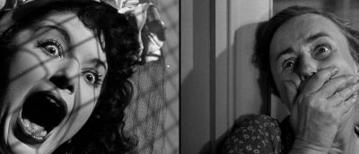 Fra «Quai des Orfèvres» (venstre, 1947) og «The Naked City» (høyre, 1948)